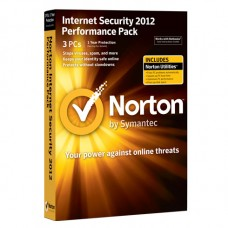 NORTON INTERNET SECURITY 2012 WIN 3-USERS CD